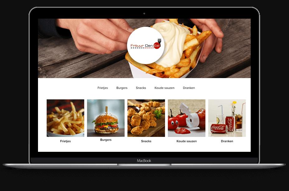 Website met bestelsysteem