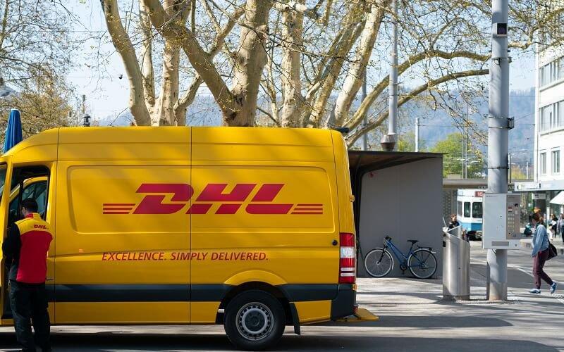 DHL levering internationaal
